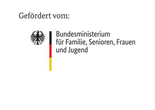 Logo vom Bundesministerium für Familie, Senioren, Frauen und Jugend